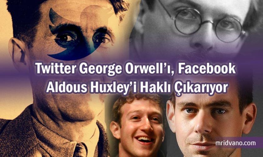 george orwell and aldous huxley a