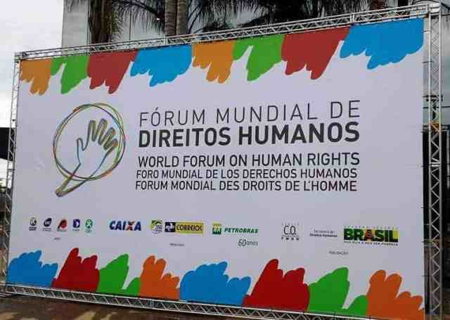 World Forum on Human Rights in Brazil