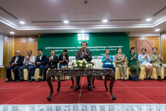 Head of Cambodia Human Rights Committee and Key Ministers