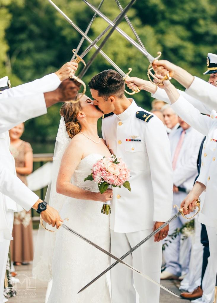 Navy Wedding || Andrea & Travis