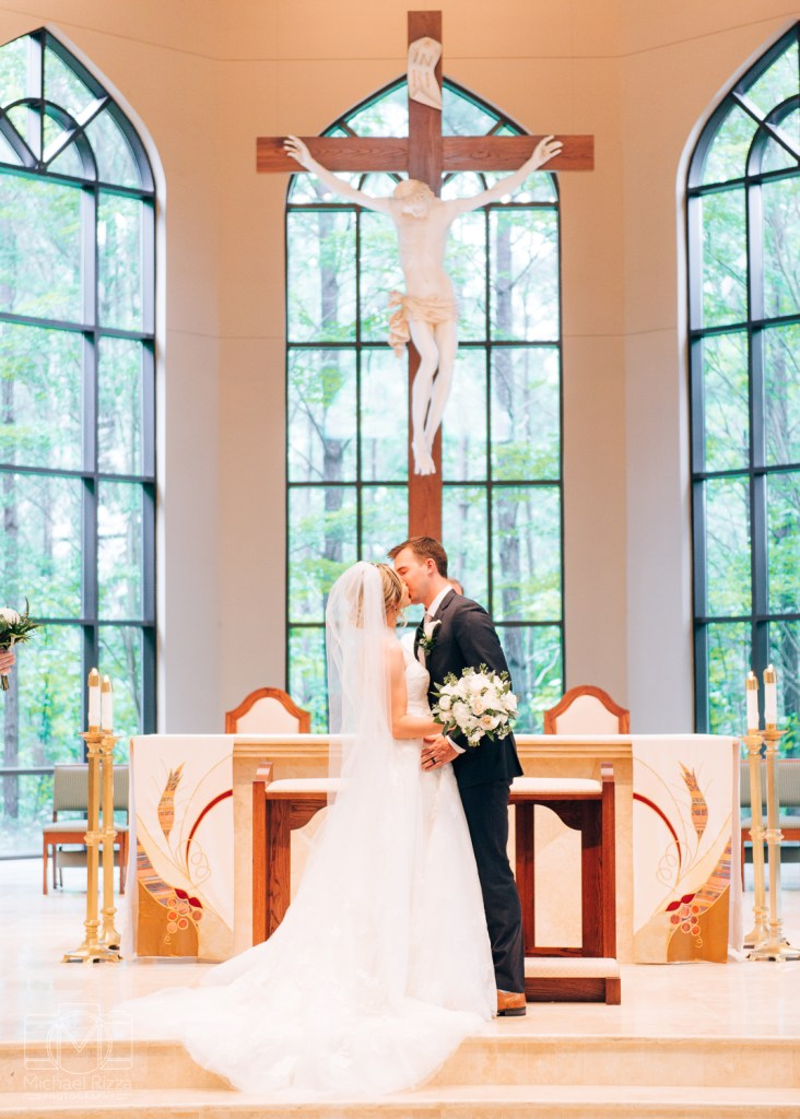 Atlanta Catholic Church wedding photography - Michael Rizza Photography