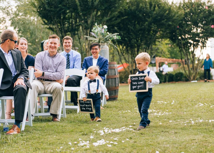 The Inn at Oak Lawn Farms Wedding Photos Ceremony