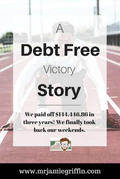 Our Debt Free Victory Story