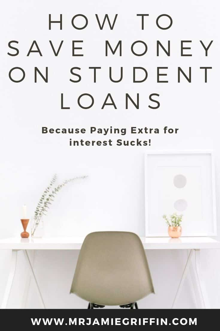 How to Save Money on Student Loan Interest