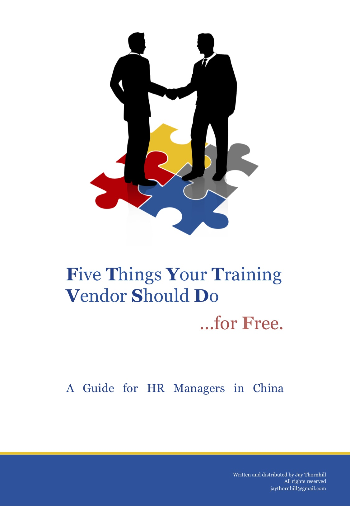 Five things your training vendor should dofor free  Jays World