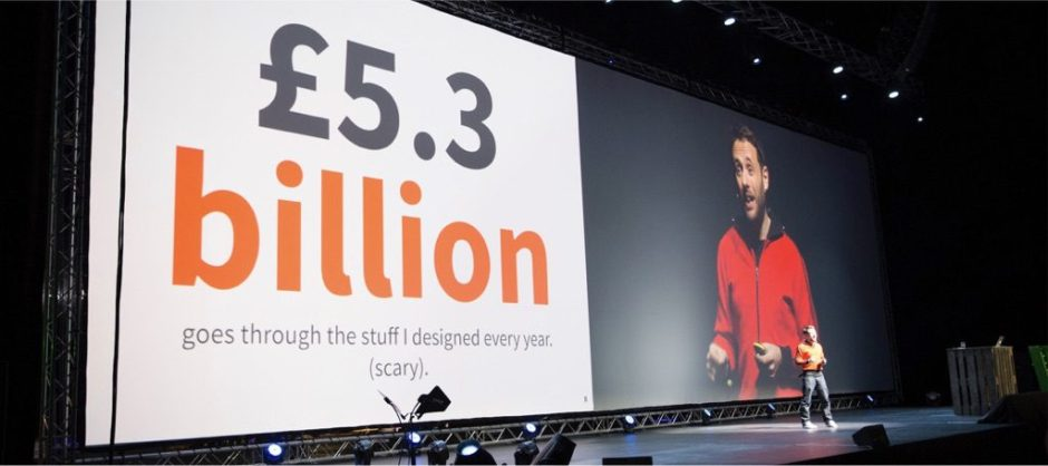 Every year £5.3 billion goes through the stuff Ive designed