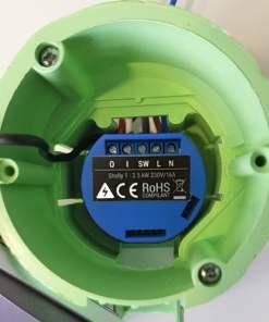 Releu pentru automatizari Smart Home, Shelly, Shelly1, Wi-Fi, 2.4 GHz b/g/n
