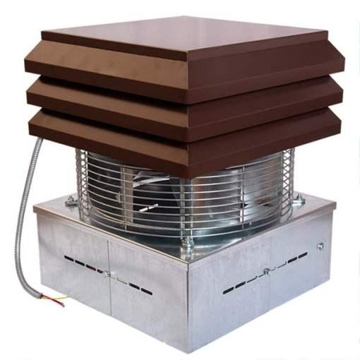 Ventilator electric cos de fum, semineu, gratar, centrala termica