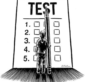 The balance of high stakes assessments vs teaching and