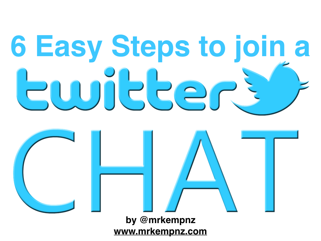 6 Easy Steps to Join a Twitter Chat – Mr Kemp NZ