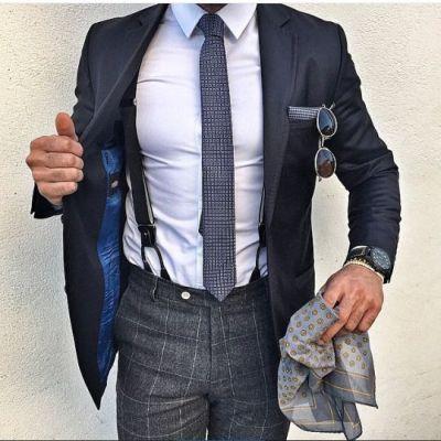 Wearing Suspenders