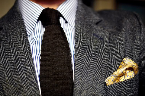 match ties and pocket squares