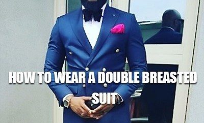 double breasted suit