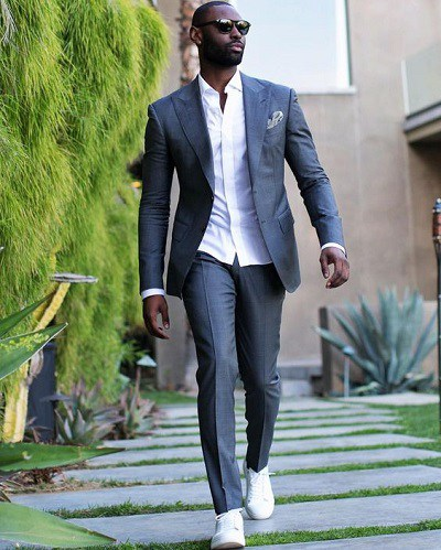 How to Wear Sneakers with a Suit - MR