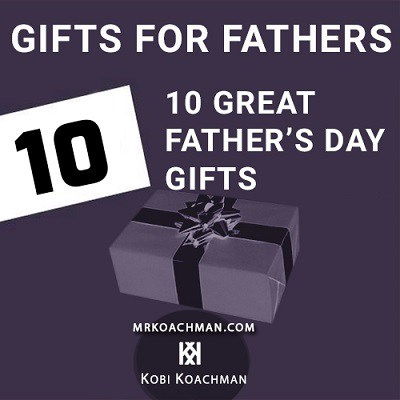 10 Great Father's Day Gifts + Giveaway!!!