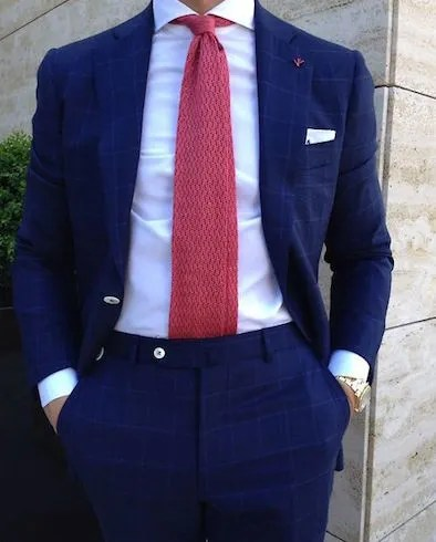 Navy Blue Suit Mr Koachman