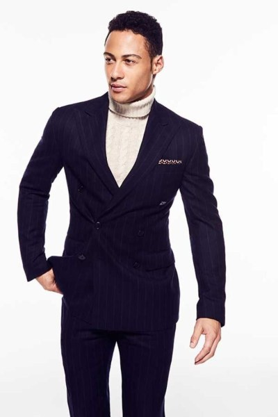 how to wear turtleneck