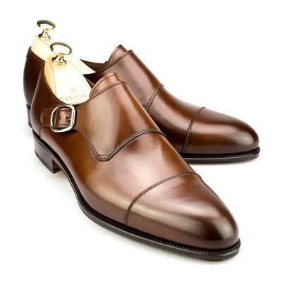 Shoe Styles and Guide For Men Single Monk Strap