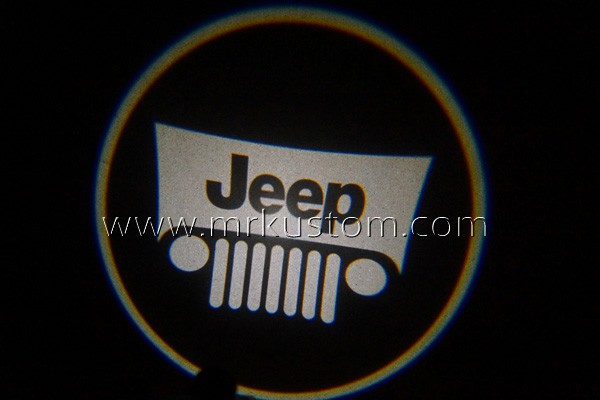 Jeep LED Door Projector Courtesy Puddle Logo Lights