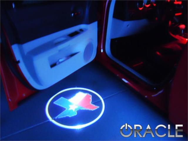 Texas Door Light Projector
