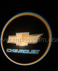Chevy LED Courtesy Logo Projector Lights