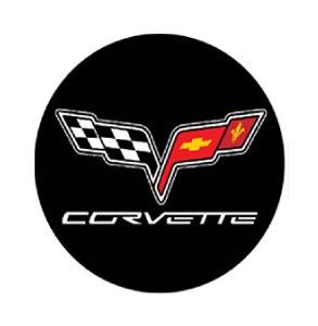 Corvette LED Logo Door Projector Lights