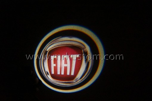 Fiat LED Courtesy Logo Projector Lights