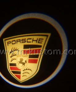 Porsche LED Courtesy Logo Projector Lights