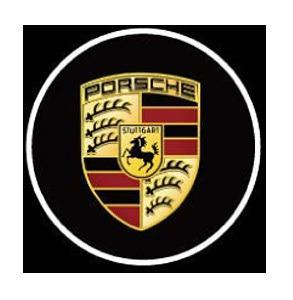 Porsche LED Logo Door Projector Lights