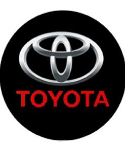 Toyota LED Logo Door Projector Lights