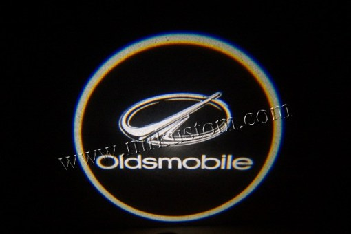 Oldsmobile LED Courtesy Logo Projector Lights
