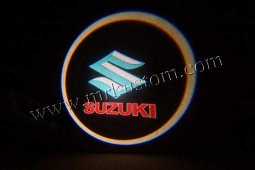 Suzuki LED Courtesy Logo Projector Puddle Lights