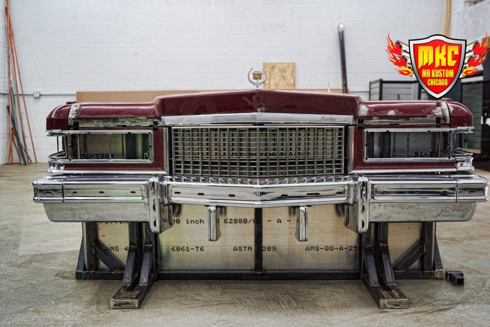 1975 Cadillac Deville DJ Booth Fron tBuild