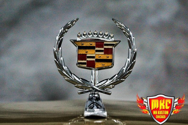 Cadillac Deville Cadillac Hood Emblem