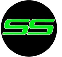 Green Chevy SS Door Puddle Logo Courtesy Light