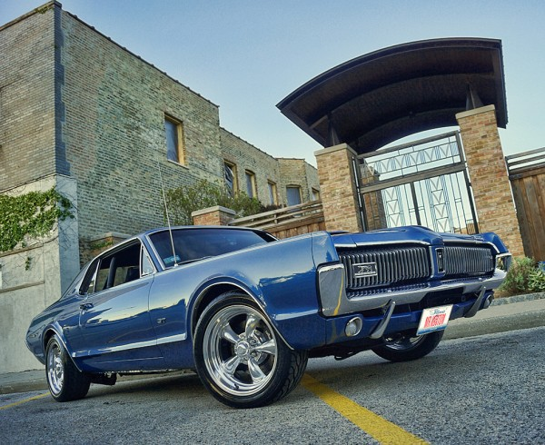 1967 Mercury Cougar Custom Supercharger