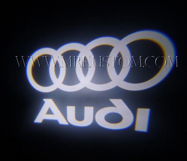 Audi LED Door Projector Courtesy Puddle Logo Lights