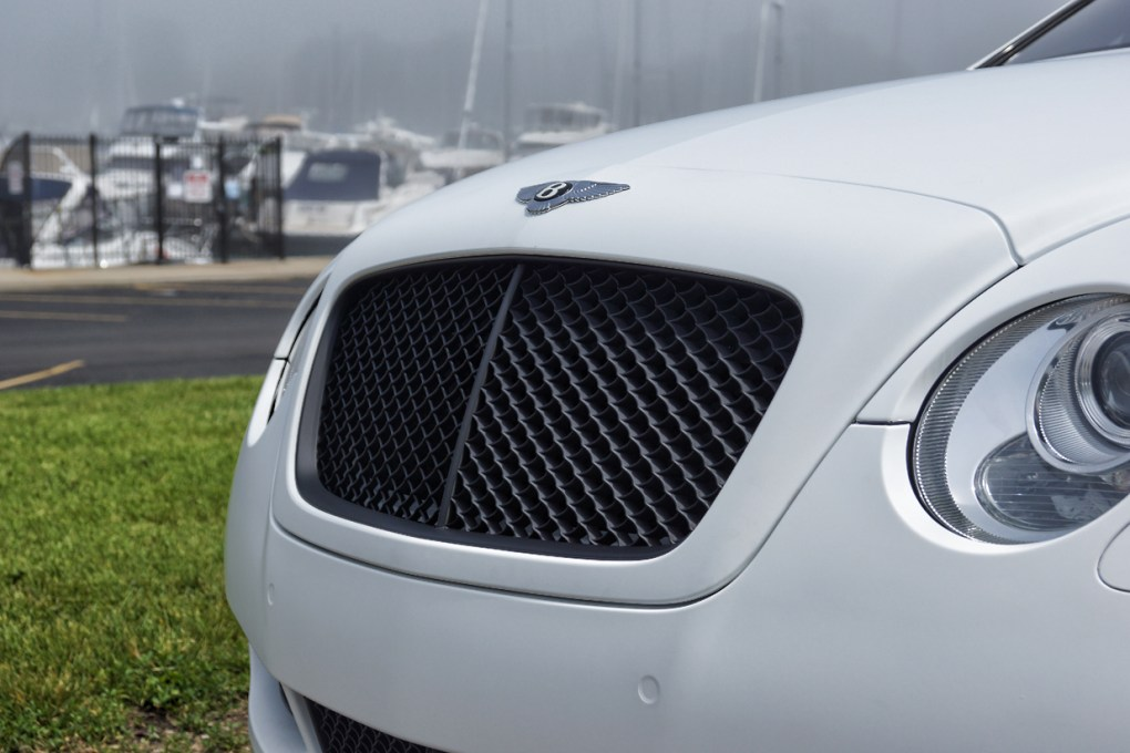 Bentley Continental Grille Black Powder Coated