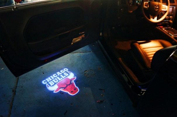 Chicago Bulls Puddle Logo Lights