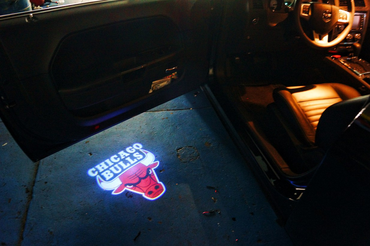 Chicago Bulls Puddle Logo Lights Projector LED  Mr