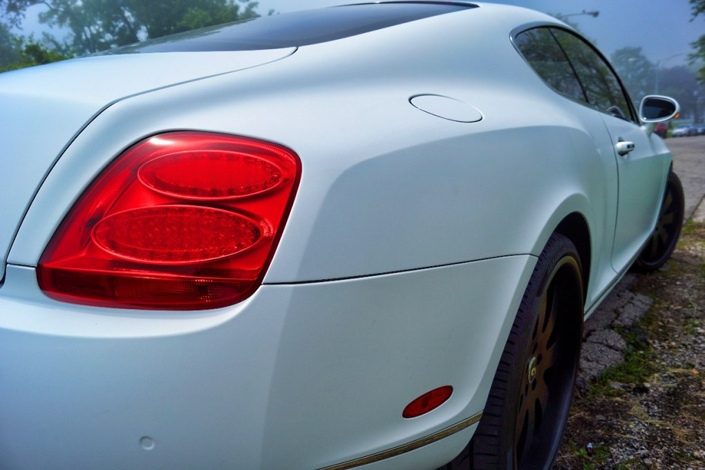 Matte White Bentley Wrap