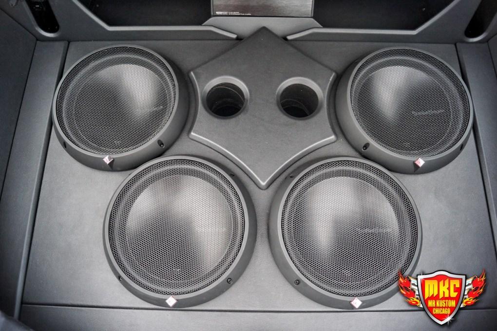 Custom Rockford Fosgate Sub Sound System Enclosures