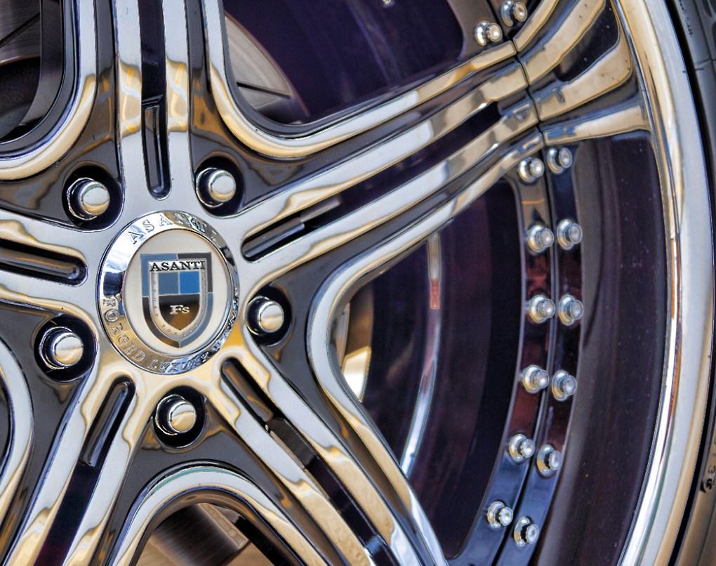 Dodge Challenger Custom Asanti Rims