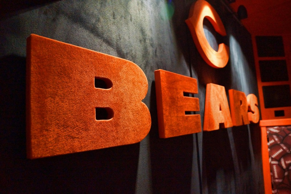 Chicago Bears Fabricated Letters