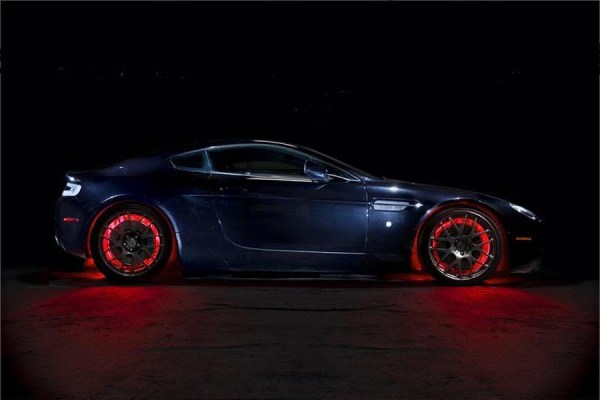 Red LED Car Wheel Lights