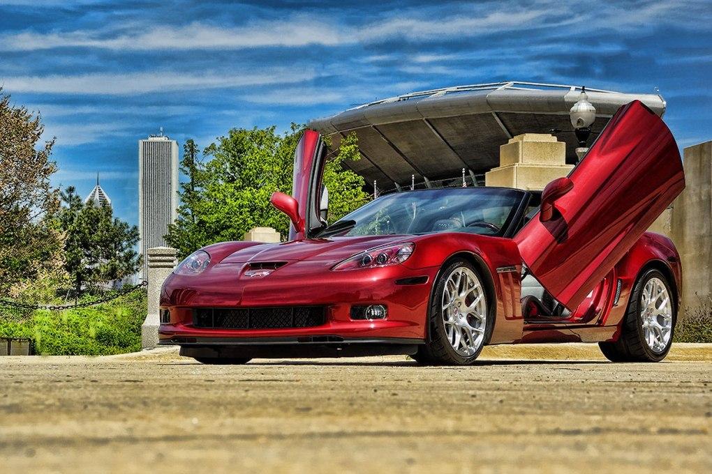 Corvette Lambo Doors