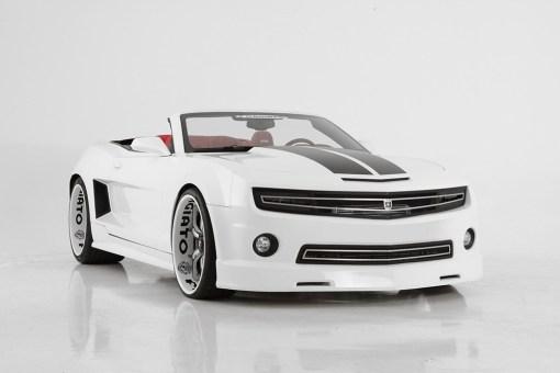 Phantom hidden headlight grille Lower bumper grille for 2010-2013 Chevrolet Camaro fits V8 models (Matte black finish)