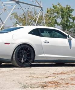 ZL1 Wickerbill Rear Spoiler for 2012-2013 Chevrolet Camaro fits Zl1 models (Matte Black finish)