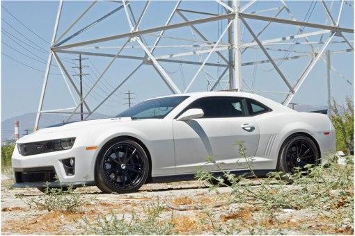 ZL1 Wickerbill Rear Spoiler for 2012-2013 Chevrolet Camaro fits Zl1 models (Matte Black finish)