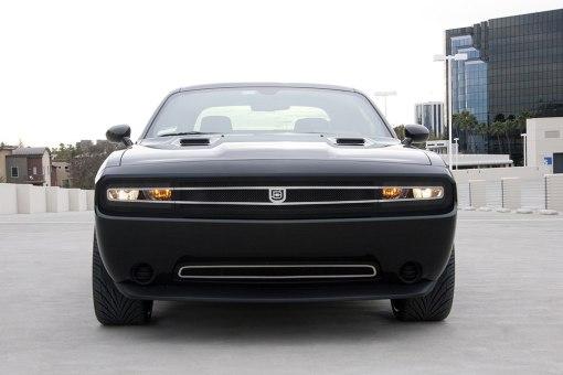 1971 for Challenger Lower bumper grille for 2008-2010 Dodge Challenger fits 2008-2010 models (Matte black finish)